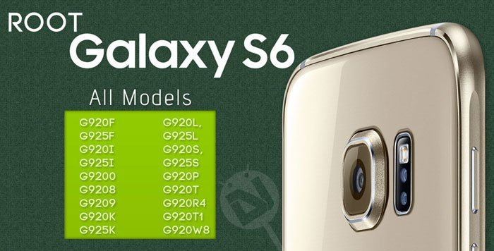 Root Samsung Galaxy S6 and Install TWRP Recovery (All Models)