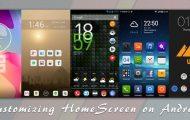 home screen customization tips