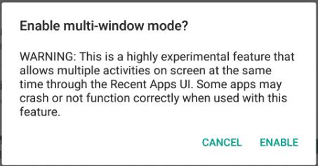 Android-m-multi-window-warning