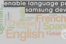 Language Packs on Samsung devices