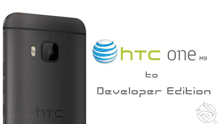 Convert AT&T HTC One M9