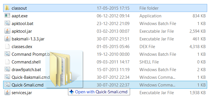 smali classout jar file