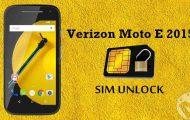 Verizon Moto E 2015