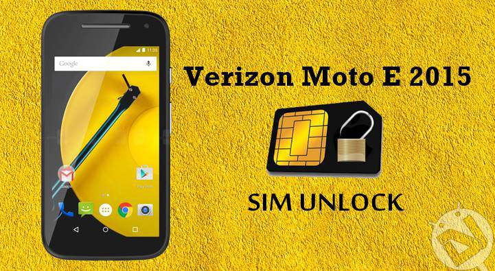 How to Use Verizon Moto E 2015 on Any GSM Network