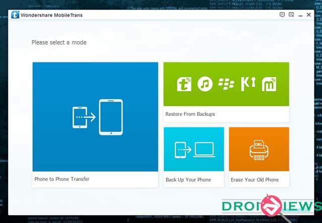 MobileTrans Screenshot-1