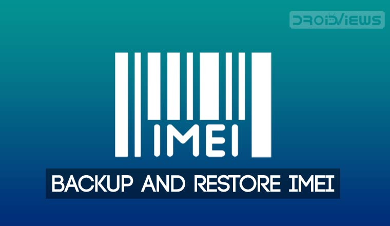 Backup and Restore IMEI