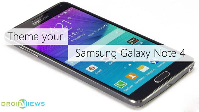Theme your Samsung Galaxy Note 4 Using Galaxy S6's Theme Engine