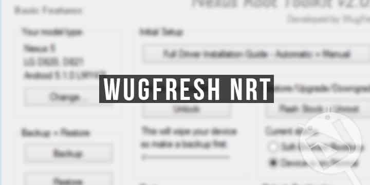 WugFresh NRT Tool