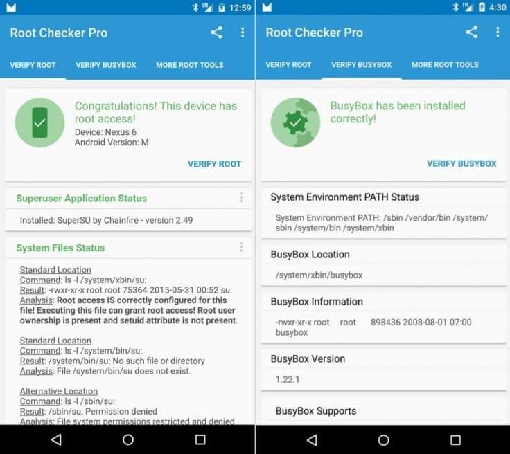 Root Nexus 5 and nexus 6