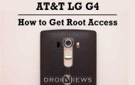 Root AT&T LG G4