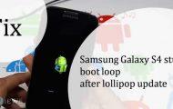 Galaxy S4 Bootloop Issue
