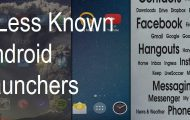less known android launchers