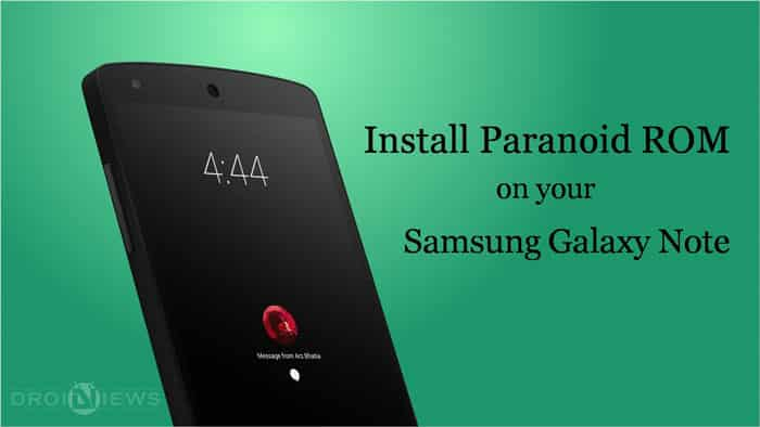 Install Android 5 1 1 Lollipop ParanoidAndroid ROM on Galaxy Note GT