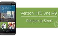 Restore Verizon HTC One M9 to Stock