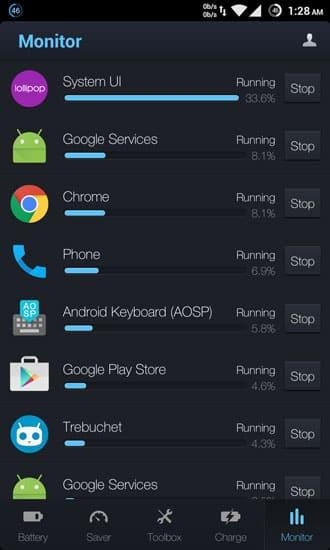 battery usage monitor