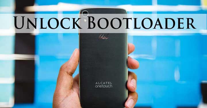 Unlock Bootloader Alcatel-Idol-3