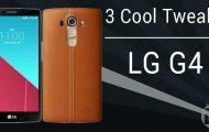 Rooted LG G4 tweaks