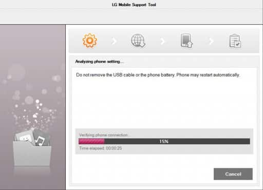 lg support tool