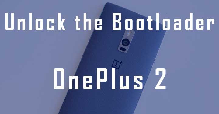 Unlock Bootloader on OnePlus 2