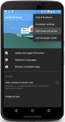 Android Auto Emulator
