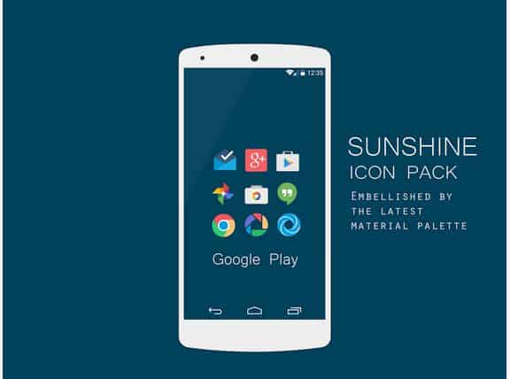 sunshine icn pack android
