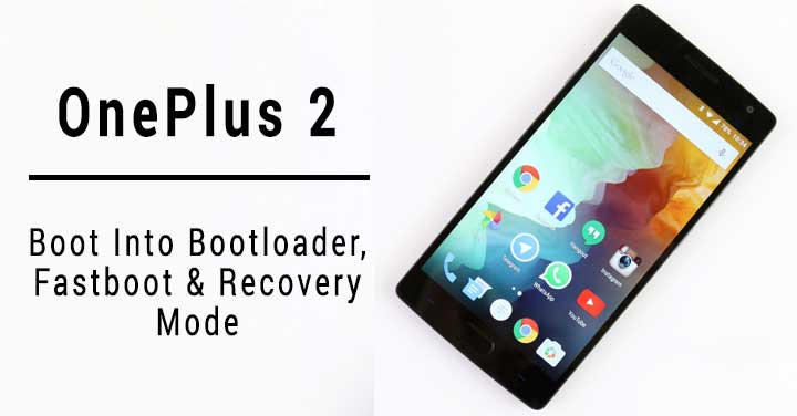 How to Boot OnePlus 2 into Recovery Mode | DroidViews