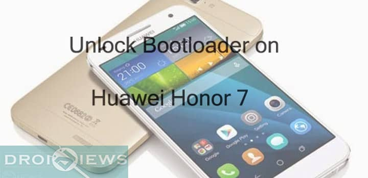 Unlock Bootloader on Huawei Honor 7