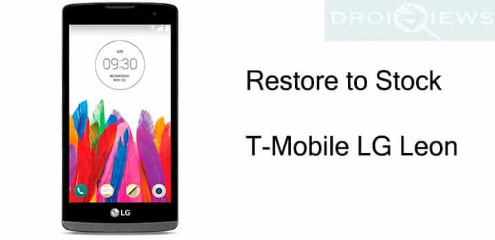 Stock Firmware on T-Mobile LG Leon