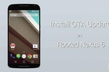 OTA Updates on Rooted Nexus 6