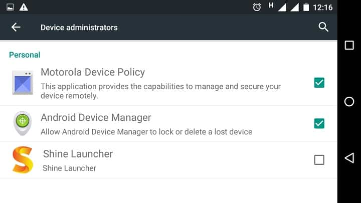 android-device-mnager