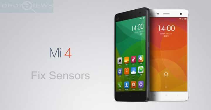 Fix Senors on Xiaomi Mi 4 Running on any Custom ROM