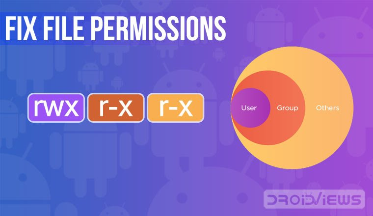 Manage and Fix File Permissions on Android (Read-Write-Execute)
