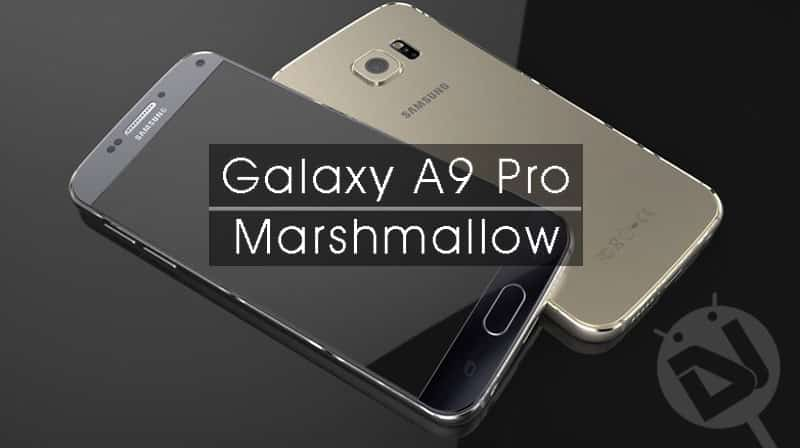 How To Install Stock Marshmallow Firmware On Galaxy A9 Pro SM A910F
