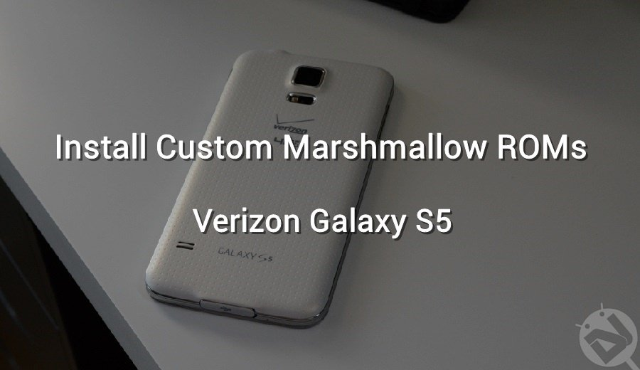 flash custom marshmallow roms galaxy s5