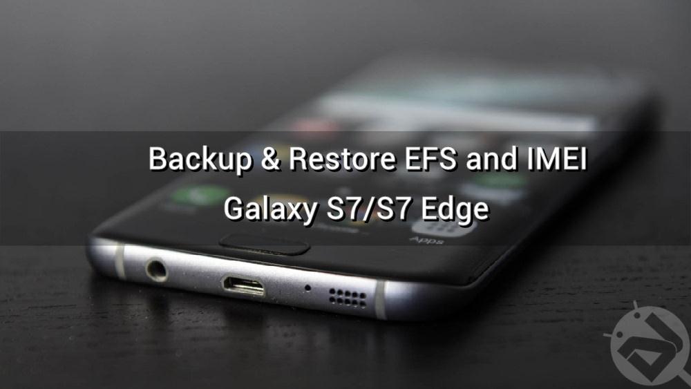 galaxy s7 restore efs