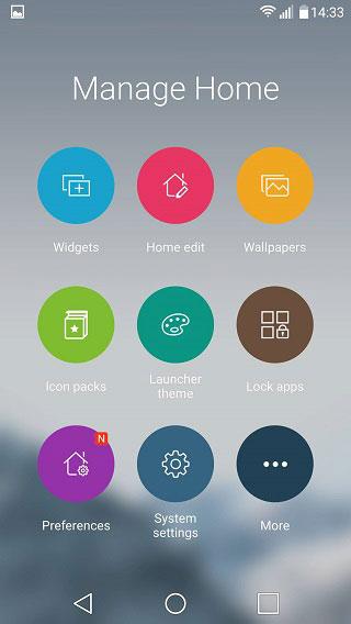 ilauncher app menu
