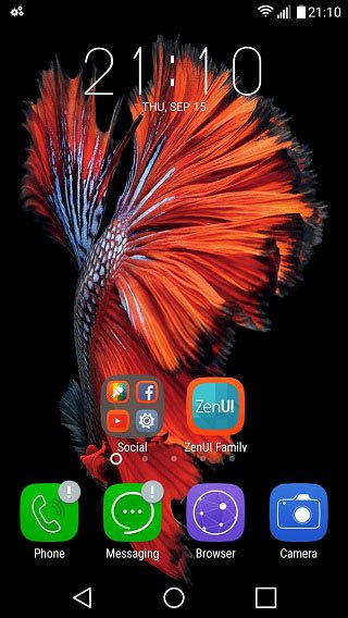 ios like home screen android