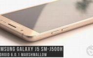 Galaxy J5 SM-J500H Marshmallow