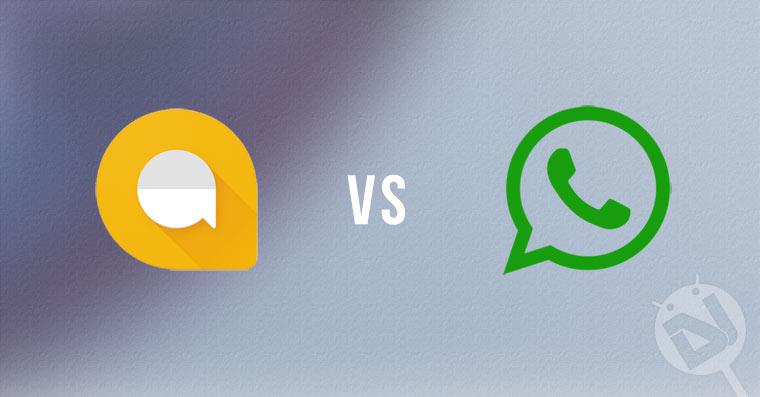 Google Allo vs WhatsApp