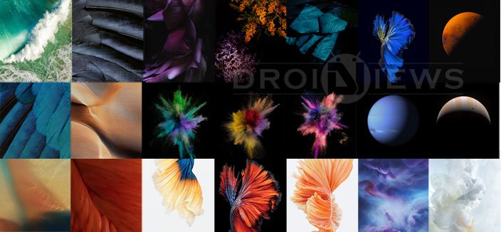 Download iPhone 7 & iOS 10 Stock Wallpapers | DroidViews
