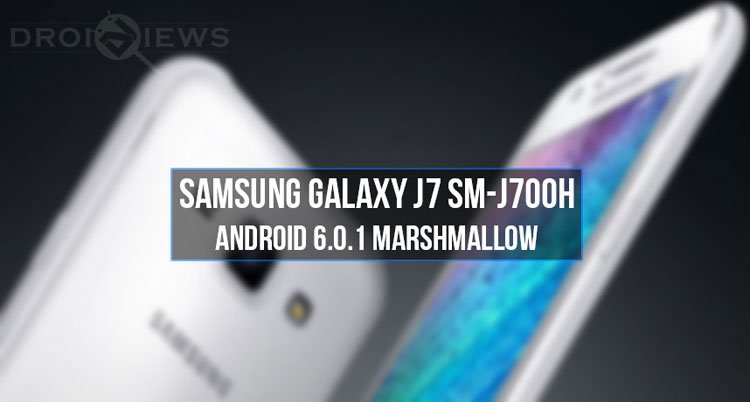 Marshmallow Firmware on Galaxy J7