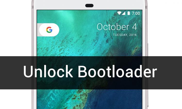 unlock bootloder on google pixel smartphones