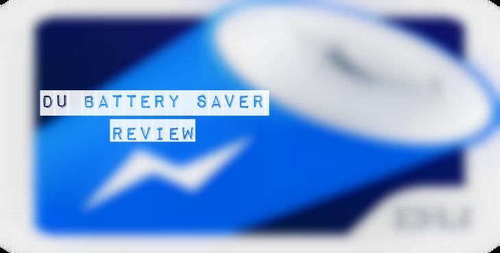 DU Battery Saver Review