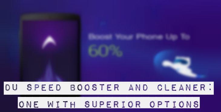 DU Speed Booster and Cleaner