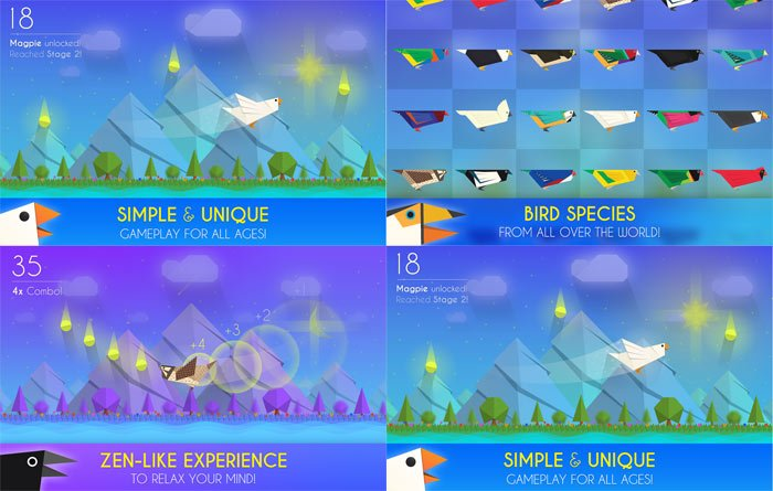 paper winds 25mb android game