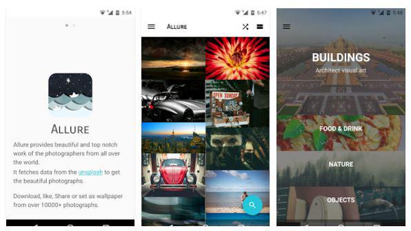 allure wallpaper app