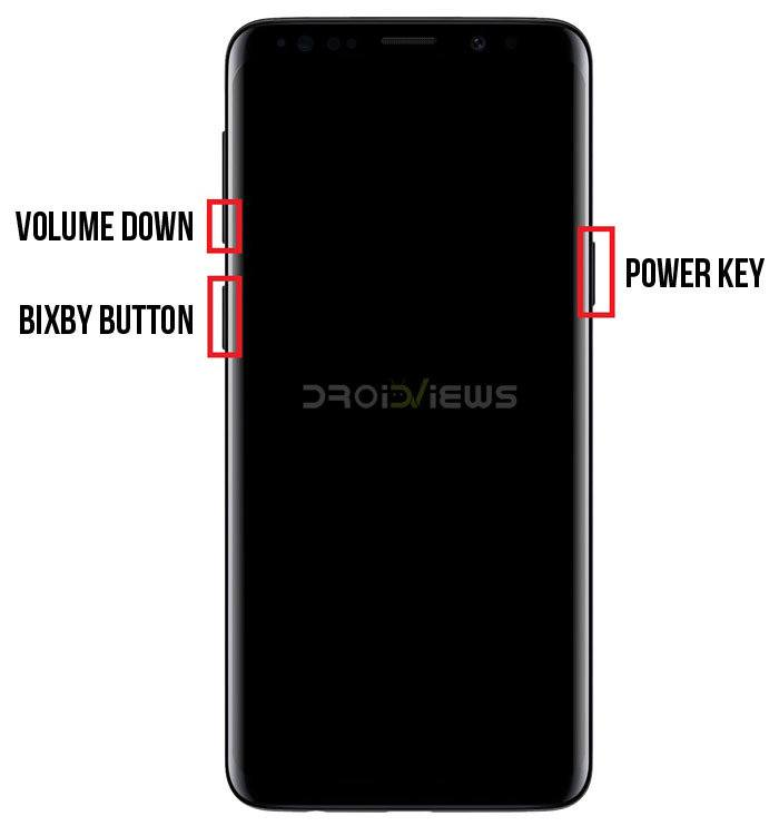 Galaxy S9 download mode key combination
