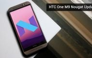 htc one m9 nougat update