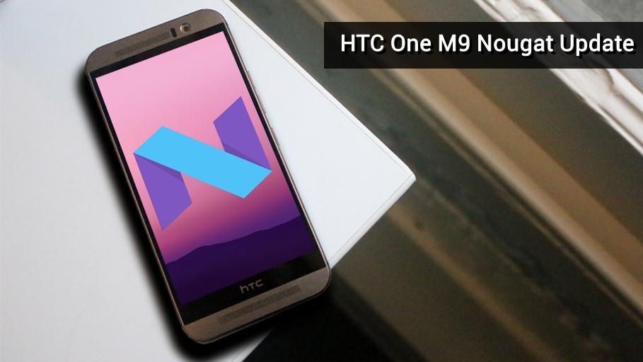htc one m9 nougat update
