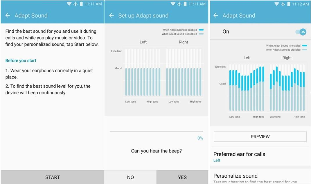 improve sound quality on galaxy devices adapt sound